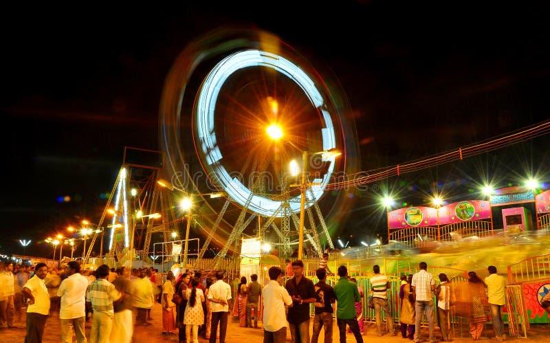 Celebarations av en festival av aluvasivarathrien, kerala arkivfoton