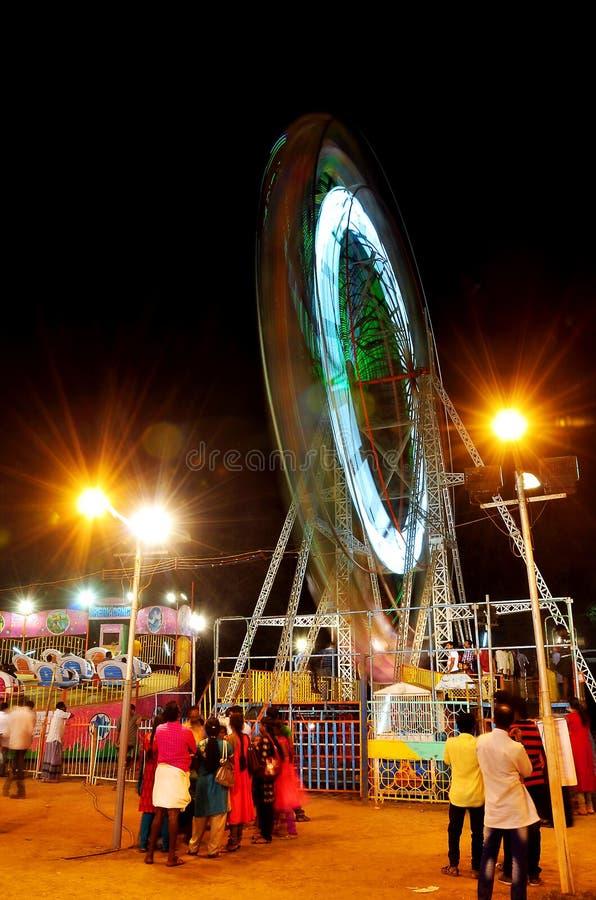 Celebarations av en festivalaluvasivarathri royaltyfria foton