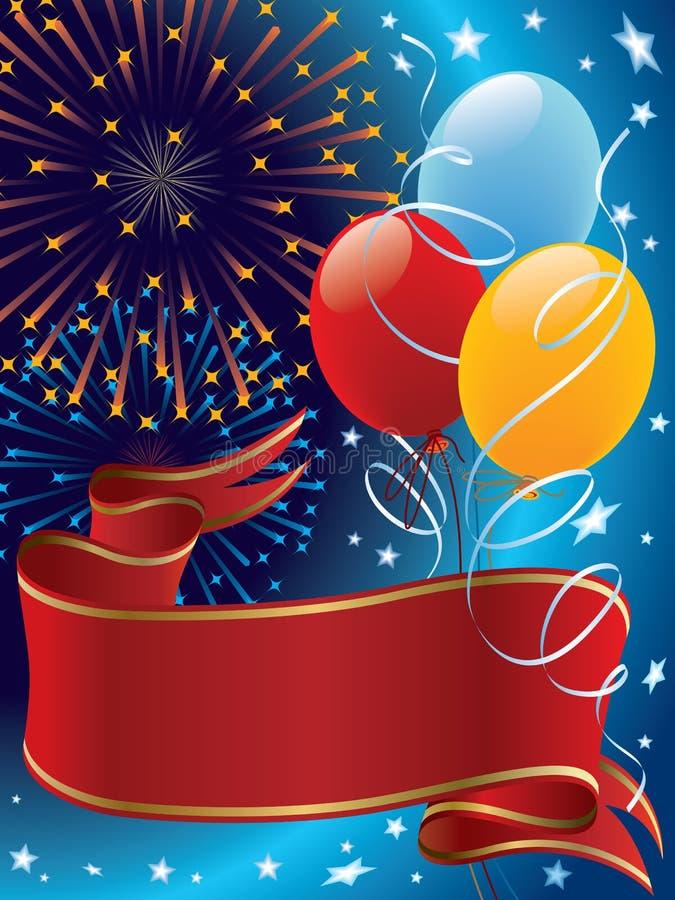 Celebração ilustração stock