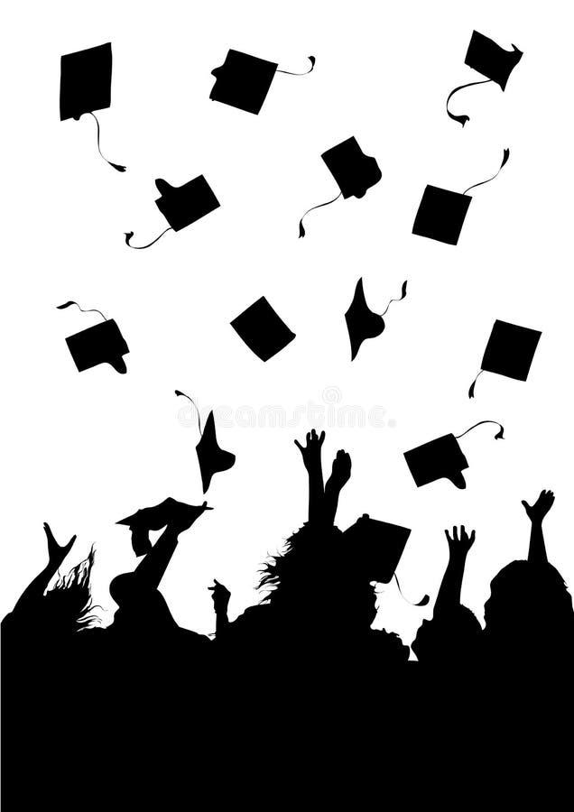 Celebração da graduação ilustração stock