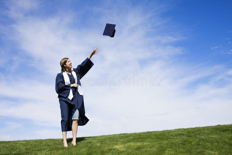 Celebração da graduação imagens de stock