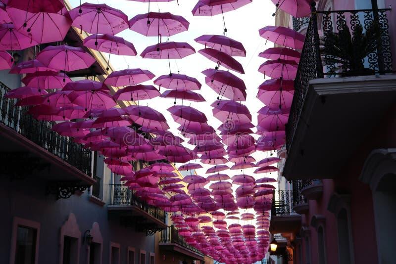 Celebração da primavera nas ruas de Porto Rico imagem de stock royalty free