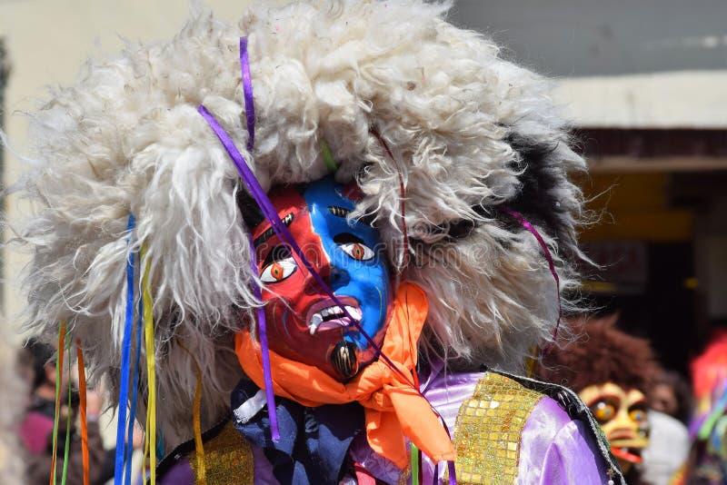 Celebração da rua em Cuzco, Peru imagens de stock