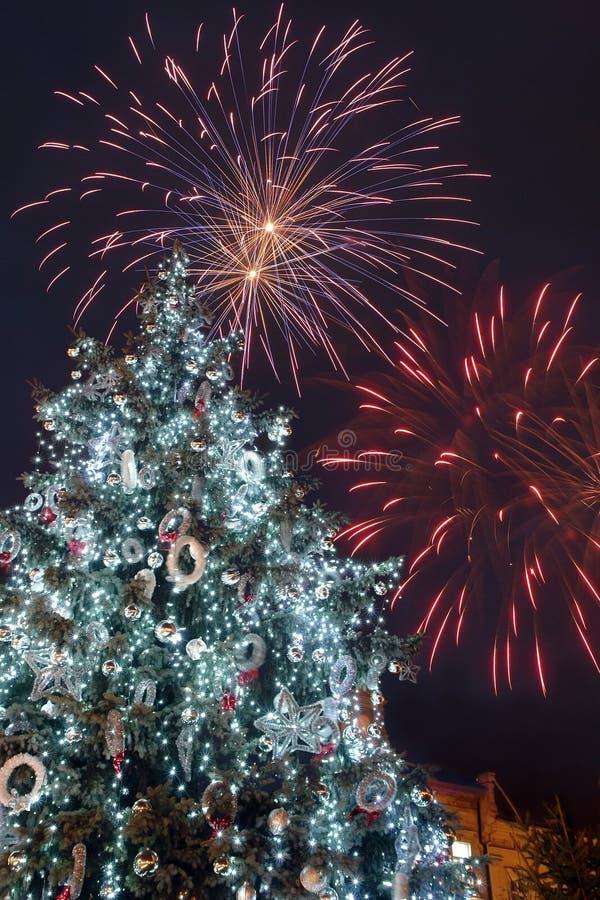 Celebração da véspera de Ano Novo imagem de stock