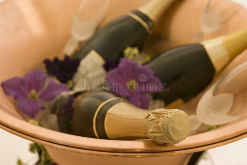 Celebração de Champagne fotos de stock