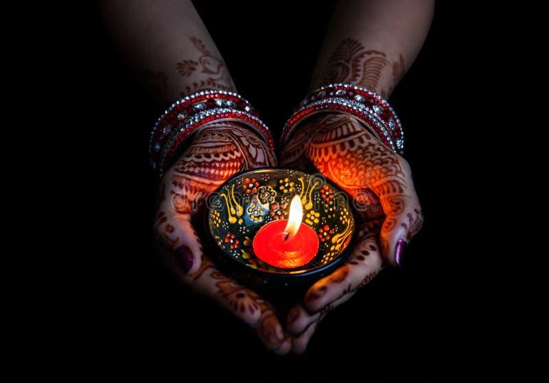 Celebração de Diwali fotos de stock
