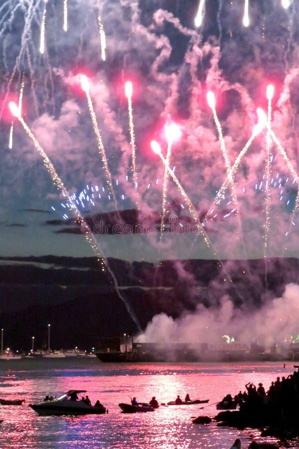 Celebração 2016 de Honda da luz em Vancôver, Canadá fotografia de stock royalty free