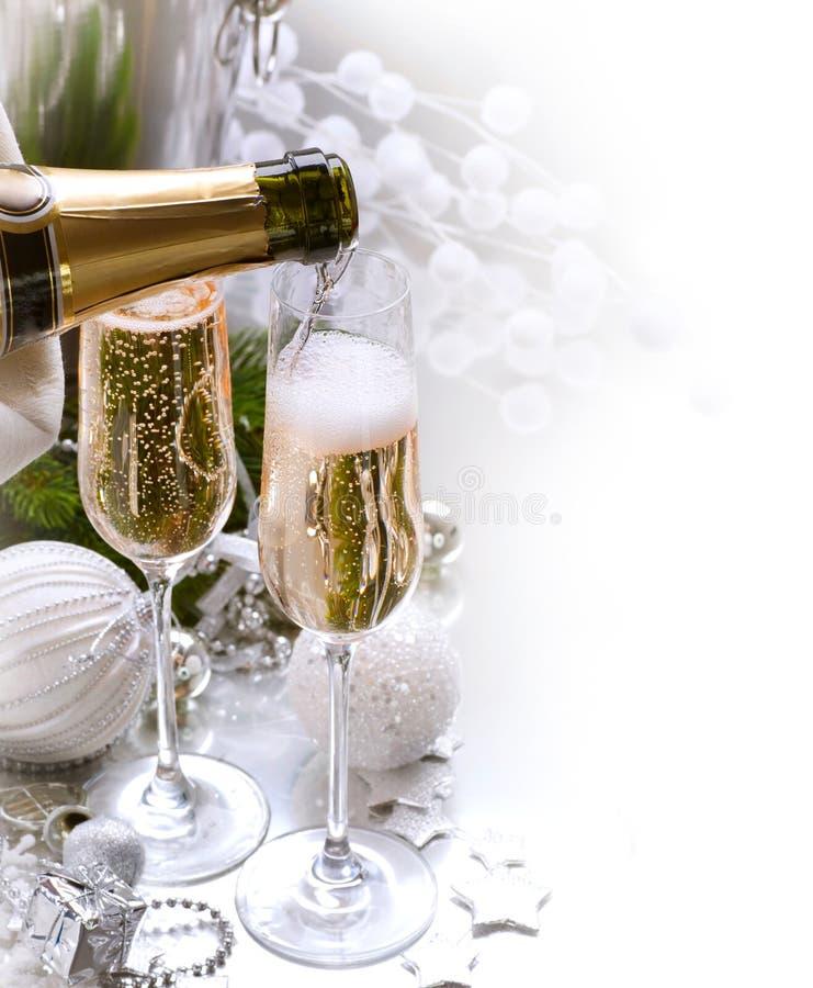 Celebração do ano novo foto de stock royalty free