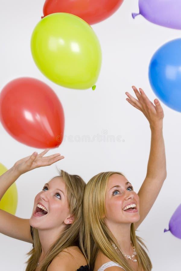 Celebração do balão foto de stock