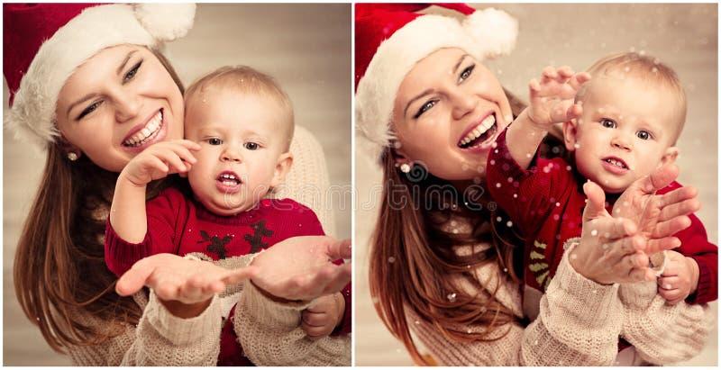 Celebração do Natal foto de stock