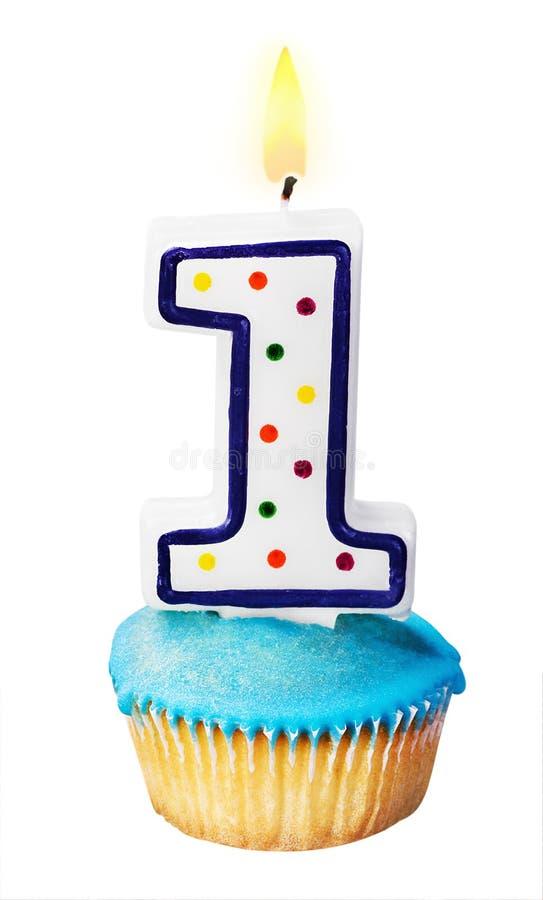 Celebração do primeiro ano qualquer um para um aniversário foto de stock royalty free