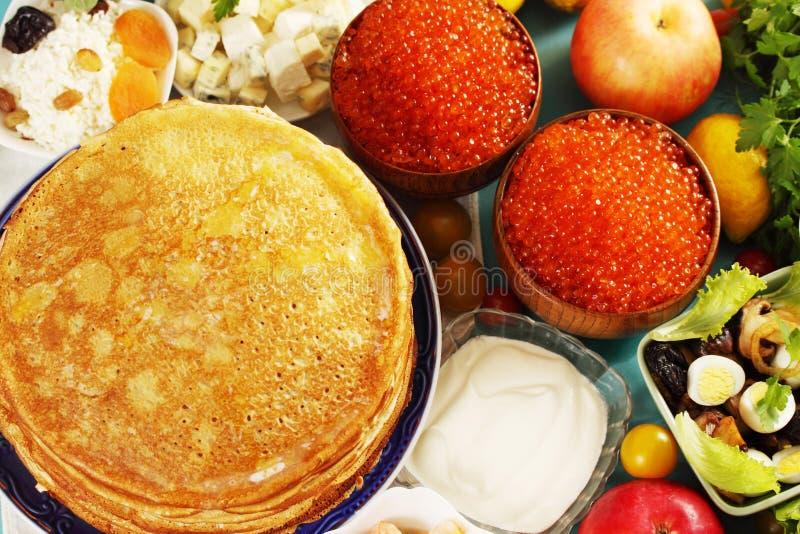Celebração Shrovetide foto de stock royalty free