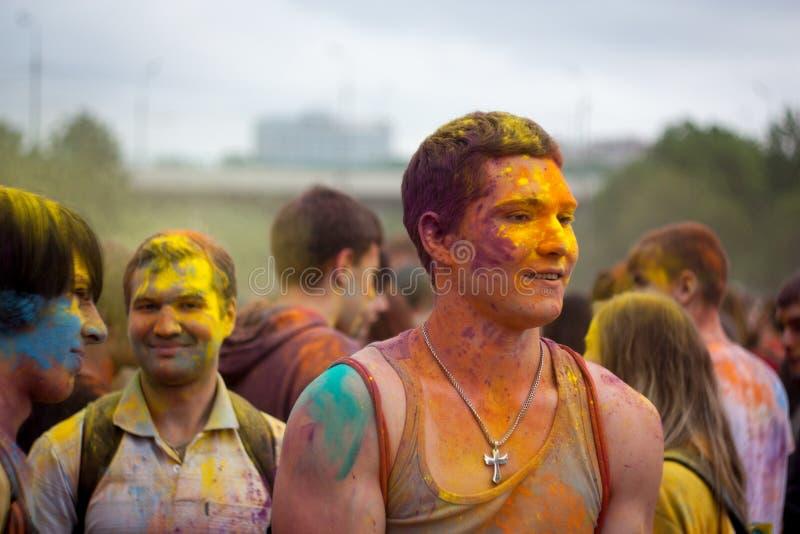Celebração tradicional da cor imagens de stock royalty free