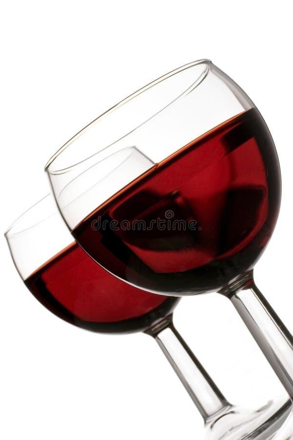 Celebração vermelha foto de stock