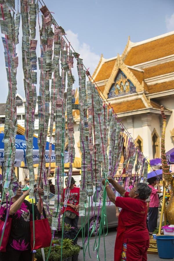 Celebrações chinesas do ano novo - Banguecoque - Tailândia imagem de stock royalty free