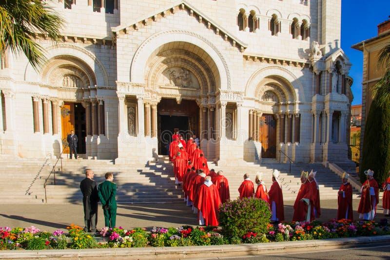 """Celebrações de Devota de Saint no †""""2015 de Mônaco fotografia de stock royalty free"""