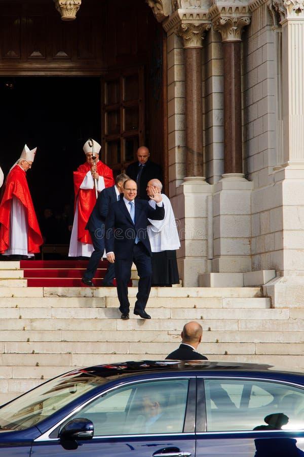"""Celebrações de Devota de Saint no †""""2015 de Mônaco imagem de stock royalty free"""