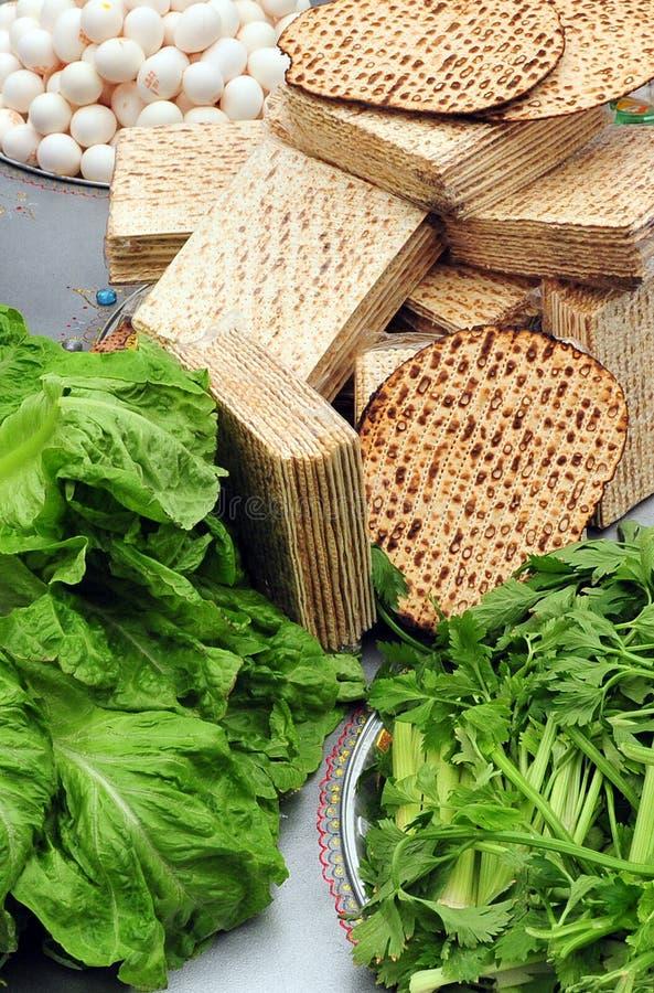 Celebrações do jantar de Seder do Passover foto de stock royalty free