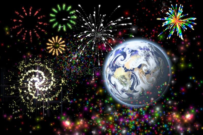 Download Celebración imagen de archivo. Imagen de color, fuego - 7276603