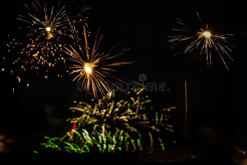 Celebración de Diwali la víspera de Laxmi Poojan foto de archivo