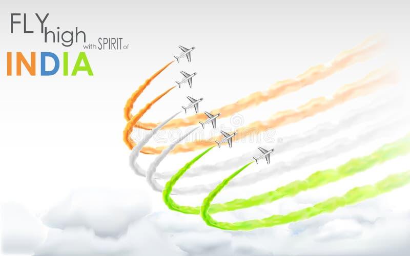 Celebración de la libertad india libre illustration