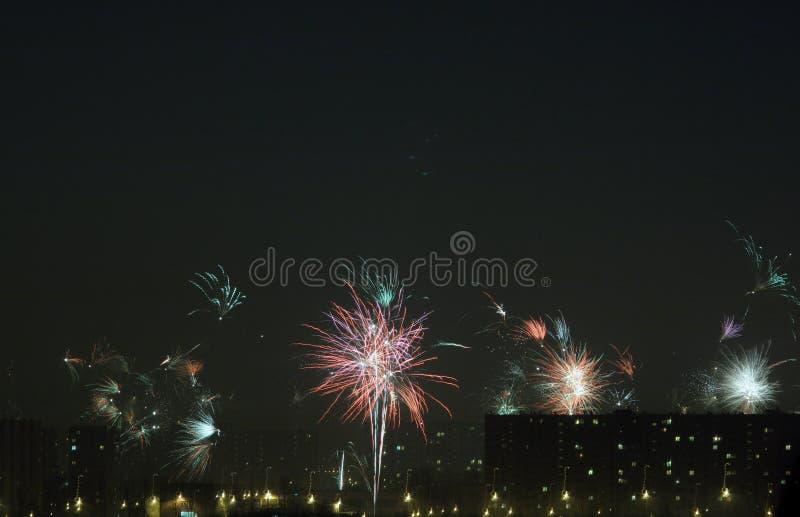 Celebración del día de Año Nuevo imagen de archivo