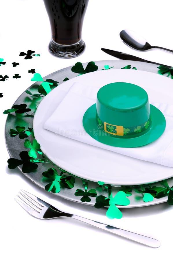 Celebración del día del St Patrick foto de archivo