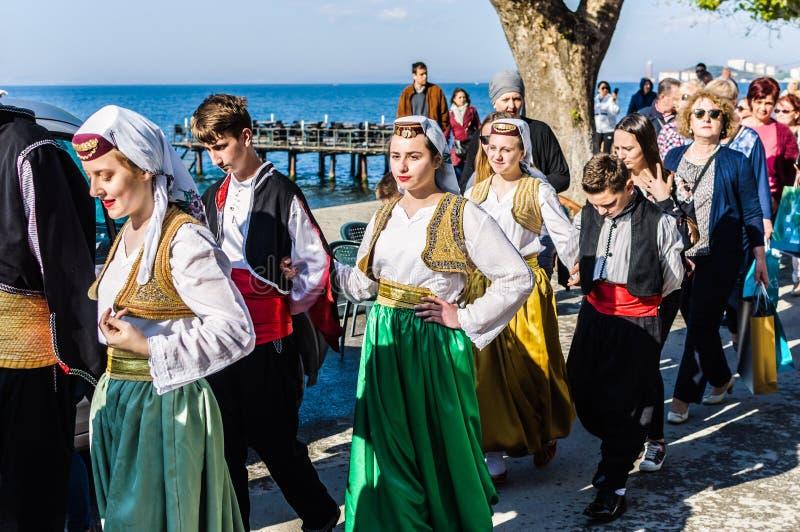 Celebración del día del ` nacional s de la soberanía y de los niños - Turquía imagenes de archivo