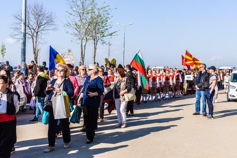 Celebración del día del ` nacional s de la soberanía y de los niños - Turquía foto de archivo libre de regalías