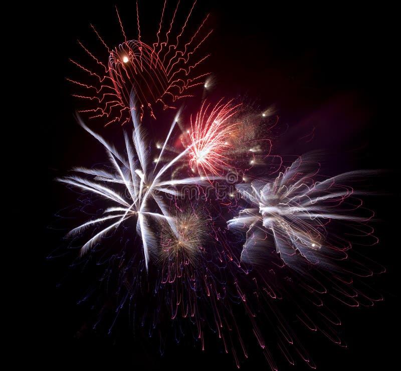 Celebración después de la medianoche foto de archivo libre de regalías