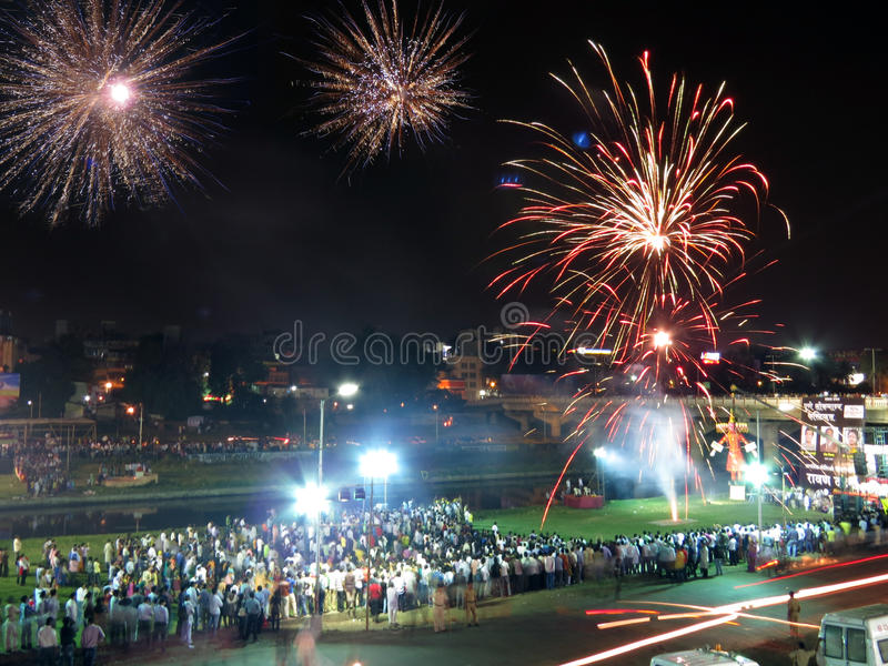 Celebración hindú imagen de archivo