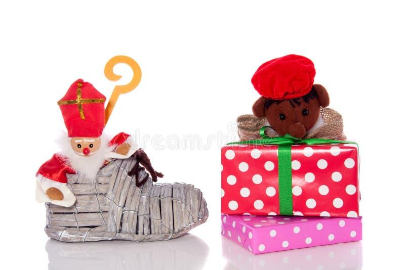 Celebración holandesa de Sinterklaas fotografía de archivo libre de regalías