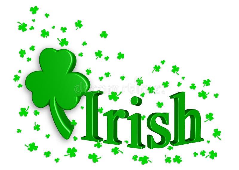 Celebración irlandesa stock de ilustración