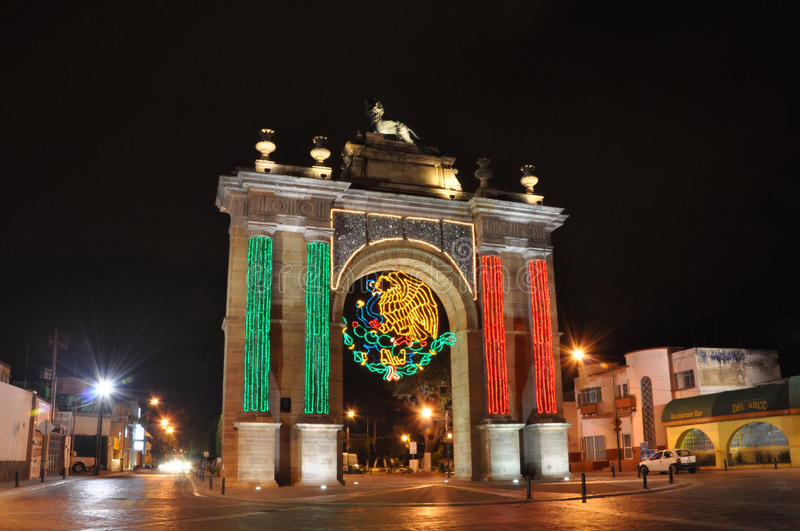 Celebración mexicana de la independencia fotos de archivo libres de regalías