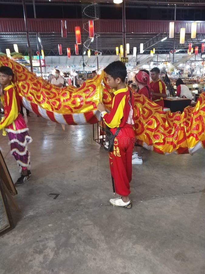 Celebraciones chinas del A?o Nuevo fotografía de archivo
