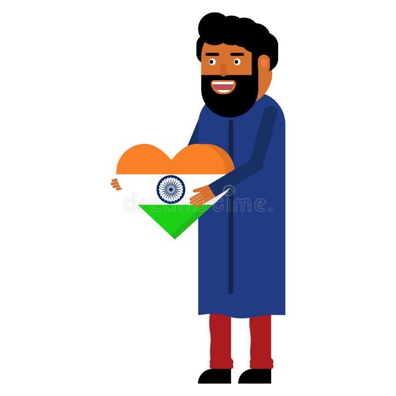 Celebraciones del Día de la Independencia en la India libre illustration