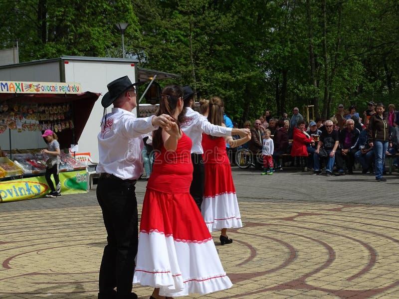 Celebraciones del Día del Mayo fotos de archivo