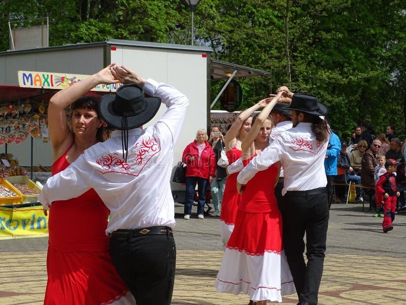 Celebraciones del Día del Mayo imagenes de archivo