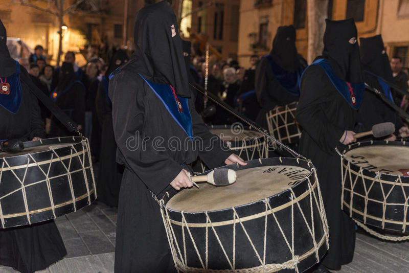 Celebraciones religiosas de la semana de Pascua, España imagenes de archivo