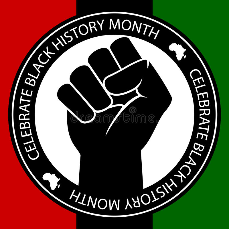 Celebrate Black History. An illustration in celebration of Black History Month
