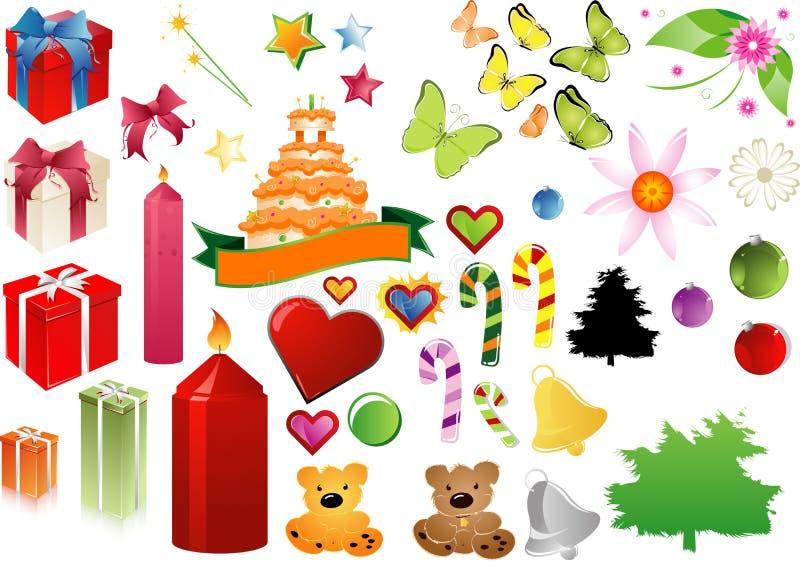 Celebrate clipart stock illustration