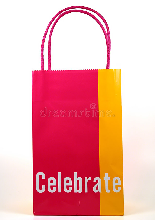 Download Celebrate Giftbag stock image. Image of carry, handle, shop - 16525