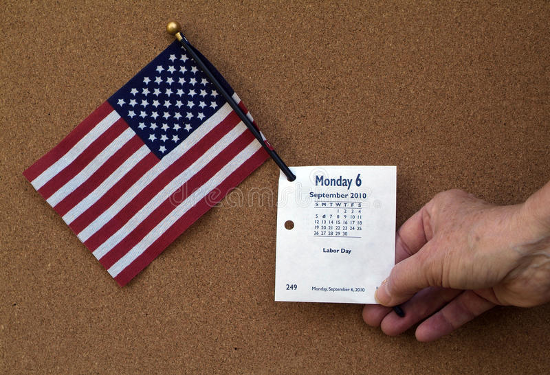 Celebrate Labor Day Stock Photography