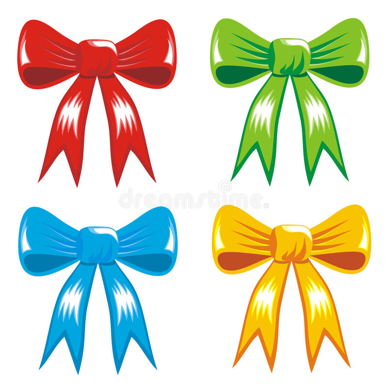 Celebrating Color Gift, Ribbon, Bow Royalty Free Stock Images