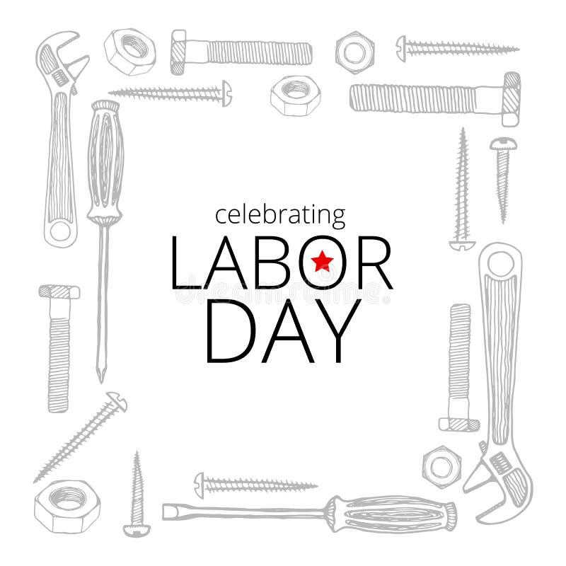Celebrating Labor Day, September 4, 2017 Stock ...