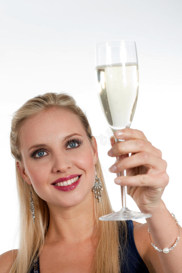 Celebrating New Years Eve Or Birthday Royalty Free Stock Photography