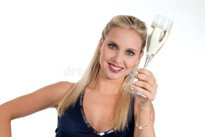 Celebrating New Years Eve Or Birthday Stock Image