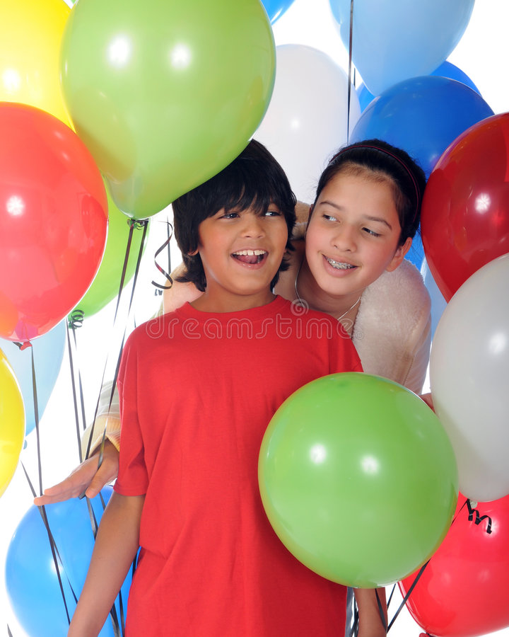 Download Celebrating Siblings stock photo. Image of happy, smile - 7018432