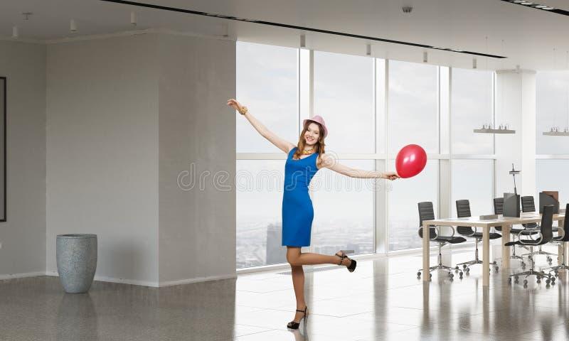 Celebrating success or anniversary . Mixed media stock image