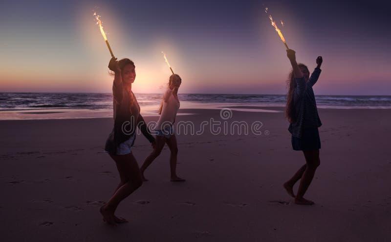 Celebrating the Summer stock photos